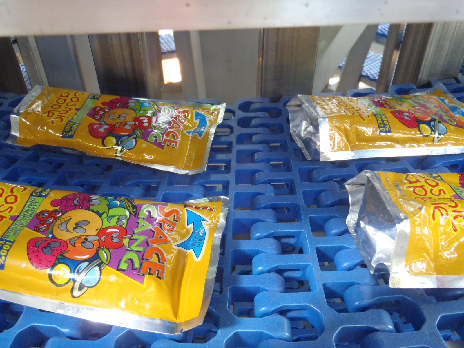 Juice Pouches on an Ultra Series Pouch Processing System