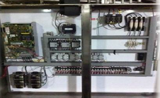 IJ White Control Panel on Spiral Cooling System